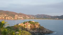zihuatanejo mexico beach - stock footage