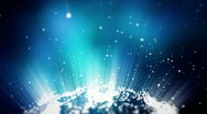Abstract lighting particles energy backgrounds Stock Footage