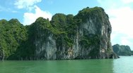 Stock Video Footage of Halong Bay