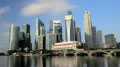 Marina Bay, Singapore, South East Asia Stock Footage