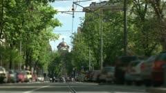 St Marko Church, Resavska Stock Footage