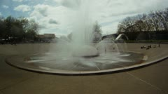 Seattle Time Lapse - International Fountain - 1080p HD Stock Footage