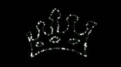 Diamond Crown - Diamond 21 (HD) Stock Footage