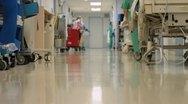 Medical Hallway (8 of 11) Stock Footage