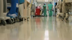 Stock Video Footage of Medical Hallway (9 of 11)