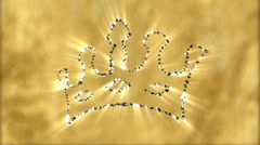 Diamond Crown - Diamond 20 (HD) - stock footage