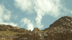 Desert Sky - TimeLapse Stock Footage