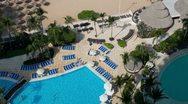 Acapulco bay hotel tourist holidays Stock Footage
