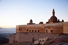 Ishak Pasha Palace 4 - stock photo