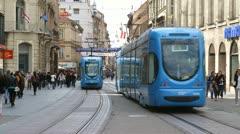 2012.04.03 Zagreb 001 Stock Footage