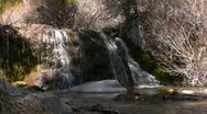 Waterfalls BC 01 Dolly L SD wide Stock Footage