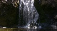 Waterfalls CC 01 Loop SD wide Stock Footage