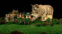 Catzilla Stock Footage