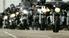 HD - Bikers Stock Footage