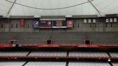 Carrier Dome Syracuse Stock Footage