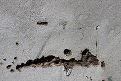 crumbeling exterier wall texture - stock photo