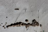 Stock Photo of crumbeling exterier wall texture