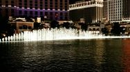 Stock Video Footage of las vegas - fountain