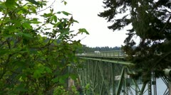 Deception pass Stock Footage