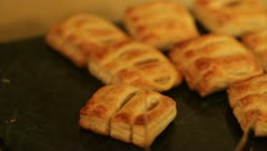 Breakfast pastries - 1080p Stock Footage