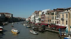 Grand Canal, Venice, Italy - stock footage