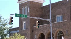 Birmingham AL Civil Rights 16thStreetBaptist1 Stock Footage