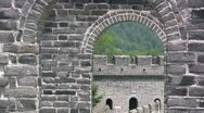 Stock Video Footage of See through of the Great Wall