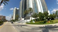 Sunny Isles Miami Beach Stock Footage