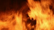 Fire Detail Clip 03 Part 1 Stock Footage