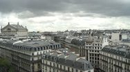 Stock Video Footage of panoramic view of Paris