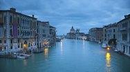 Santa Maria Della Salute, Grand Canal, Venice, Italy Stock Footage