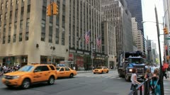 New york city street Stock Footage