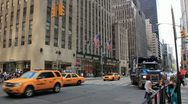 Stock Video Footage of new york city street
