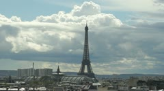 panoramic view of Paris - stock footage