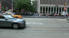 New york city street 7 Stock Footage