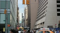 New york city street 8 Stock Footage