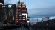 Stock Video Footage of las vegas - signs new york
