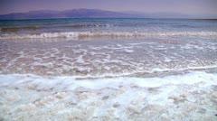 Dead Sea - Salt Sea 2 Stock Footage