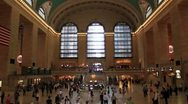 Stock Video Footage of NYC Grand central terminal 3