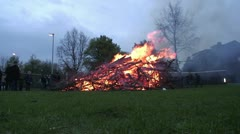 Easter Fire 2012 - stock footage