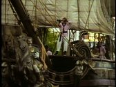 Stock Video Footage of The Pirate Battle on Buccaneer Bay at Treasure Island Hotel, Las Vegas, Nevada
