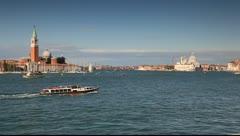 Bacino di San Marco, Venice, Italy Stock Footage