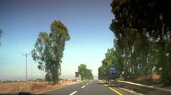Driving on the Road 8 Stock Footage