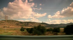 Driving View 1 Stock Footage