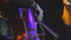 Violoncellist 3 Stock Footage