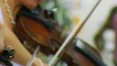 Violinists Stock Footage