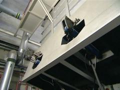 Hydraulic pistons Stock Footage