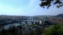 Prag view4 Stock Footage