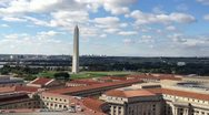 Washington Monument Stock Footage
