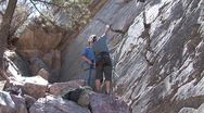 Rock Climb 4 Stock Footage
